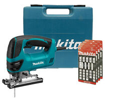 Makita Top Handle Jig Saw with L.E.D. Light 110v + 20 Makita Jigsaw Blades NEW