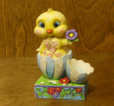 Jim Shore Heartwood Creek Minis 4051403 CHICK in BROKEN SHELL, From Retail Store