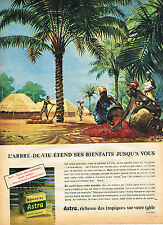 PUBLICITE ADVERTISING 025  1957  ASTRA  margarine  L'ARBRE-DE-VIE