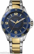 Tommy Hilfiger 1790839 Blue Dial Two Tone Stainless Men's Watch