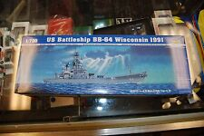 Trumpeter 1:700 kit 05706 * US Battleship BB-64 Wisconsin 1991 w/GMM Part * Nice