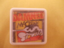 THE DAMNED MACHINE GUN ETIQUETTE ALBUM COVER BADGE PIN