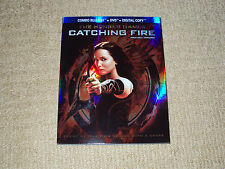 THE HUNGER GAMES CATCHING FIRE COMBO BLU-RAY & DVD & DIGITAL COPY, WATCHED ONCE