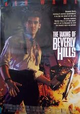1991 The Taking Of Beverly Hills Original Double Sided Movie Poster 27x40
