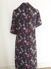 Printed Multi Floral on Neoprene Stretch Jersey Dressmaking Fabric
