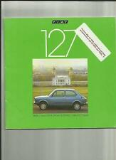 THREE FIAT 127 'SALES BROCHURES'/ROAD TEST LATE 70's AND 1980
