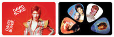David Bowie Album Covers PikCard Collectible Guitar Picks (4 picks per card)