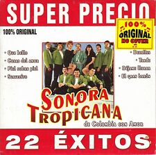 Sonora Tropicana Super Precio 22 Exitos CD No Plastic Seal