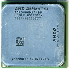 AMD Athlon de 64 3800+, 939, 1000 FSB, 2,4 GHz, 512 KB l2, ada3800daa4bp