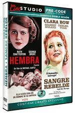 Female  + Call Her Savage **Dvd R2** Clara Bow Ruth Chatterton, George Brent,