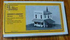 Micro Engineering Company HO #70604 Groger's Grocery (Building Kit)