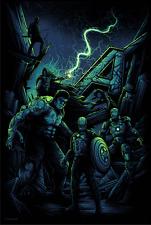 Marvel Avengers Assemble Foil Variant Poster Art Print by Dan Mumford