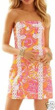 *NWT LILLY PULITZER Tansy Strapless Dress-Sunshine Yellow Sea And Be Seen! SZ-6