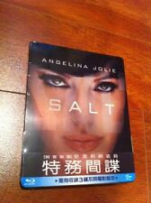 Salt Blu-ray Steelbook | Taiwan Exclusive | New Sealed | Rare OOP w/ Slipcover