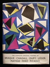 ART IN POSTERS HB w Lithographs Braque Chagall Dufy Leger Matisse Miro Picasso