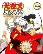 JAPAN DVD Anime INUYASHA Complete Boxset Series (EP. 1-167) End English Dubbed