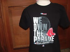 BOSTON RED SOX(We Own The Parade)WORLD SERIES 2003 T-SHIRT~CHILDS MED.MLB COLL.