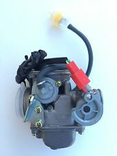 Carburetor GY6 125c-150cc Scooter moped Roketa  24mm KEIHIN Carb With Oil Filter