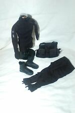 1/6 lapd police swat team uniforme et gilet lot