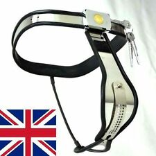 Female Adjustable Curve-T Stainless Steel Premium Chastity Belt 65 - 90 cms