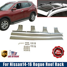 For Nissan 2014-2016 Rogue X-Trail Roof Rack Cross Bar Luggage Carrier Rail