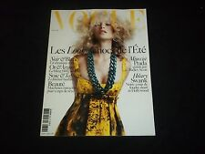 2005 APRIL VOGUE PARIS MAGAZINE - CAROLYN MURPHY - FASHION COVER - F 3004