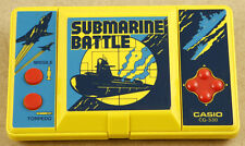 Casio CG-330 Submarine Battle Vintage Handheld Game Made in Japan 1984