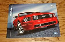 Original 2009 Ford Mustang Sales Brochure 09 GT Shelby GT500