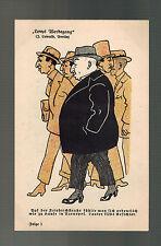 Mint Germany Cartoon Postcard Judaica Jewish J Lewald Berlin