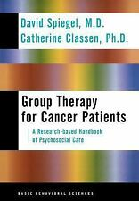 Group Therapy for Cancer: A Research-Based Handbook of Psychosocial Care
