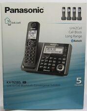 Panasonic KX-TG585SK 6.0 PLUS Expandable Digital Cordless Answering System NEW