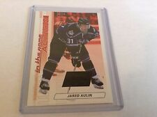 03-04 2003-04 IN THE GAME ACTION JARED AULIN JERSEY RUBY /500 M-3 KINGS