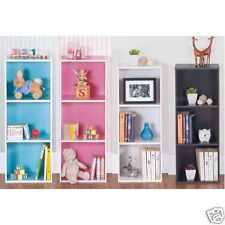 En bois 1 / 3 / 4 niveaux étagère bibliothèque libre debout étagères de stockage Afficher Unité