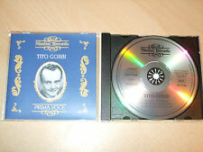 Tito Gobbi - Prima Voice (Best Of) (CD) 18 Tracks - Mint/New - Fast Postage