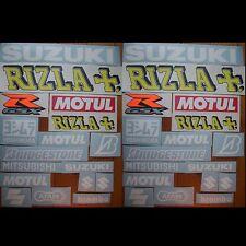 34tlgs. Aufkleber Set Suzuki Rizla #0014