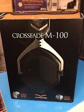 NEW V-MODA Crossfade M-100 Over-Ear Noise-Isolating Headphone (Phantom Chrome)