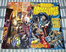 Lot of 4 X-Men Age of Apocalypse Comics from 1996 & 2005 Mixed Series