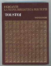 TOLSTOJ LEV I GIGANTI MONDADORI 1970