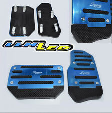2 x Non slip Automatic Transmission Car/Truck Blue Pedal Foot Pad Cover