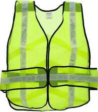 NEW IRONWEAR LIME GREEN REFLECTIVE BREAKAWAY SAFETY VEST 7015L mesh one size A74