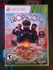 TROPICO 4 - Microsoft Xbox 360 Game  - Brand New & Sealed