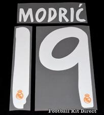 Real Madrid Modric 19 La Liga Football Shirt Name/Number Set 2013/14 Away
