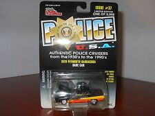 RACING CHAMPIONS U.S.A. #38 1950 FORD COUPE MICHIGAN POLICE DEPT.