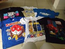 Bundle Boys 6 T Shirts Film correlati LEGO BIG HERO 6 Turbo SPONGEBOB 9ys g12