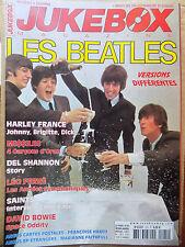 revue JUKEBOX MAGAZINE n°225 LES BEATLES LEO FERRE DAVID BOWIE SAINTS MISSILES