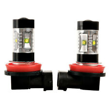 2 X H11 Super White 30W 6000K LED Projector Fog Driving DRL Light Lamp Bulbs Hot