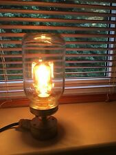 Industrial Vintage Retro Light Fitting Bedside Table Desk Lamp Jam Jar