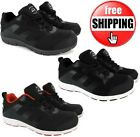 NEW MENS LIGHTWEIGHT SAFETY TRAINERS STEEL TOE CAP WORK RUNNING SHOE SIZE 7-11