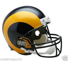 ST LOUIS RAMS THROWBACK 1981-1999 NFL RIDDELL FULL SIZE FOOTBALL HELMET