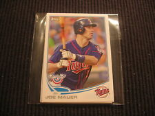 2013 TOPPS OPENING DAY MINNESOTA TWINS TEAM SET 4 CARDS  JOE MAUER +